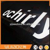Cartas ligeras de acrílico puestas a contraluz por encargo de las señalizaciones LED del canal de la publicidad comercial