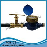 Латунный Lockable шариковый клапан для счетчика воды (V18-801)