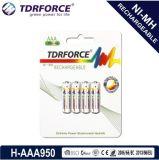 (HR03-AAA 1000mAh) nachladbare niedrige der Selbstentladung-1.2V Batterie Nickel-Metallhydrid-China-Fatory