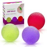 Aperte as esferas de estresse por mão, dedo e aderência Strengthening-Set de 3 Resistência
