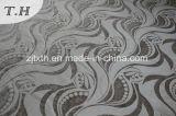 Tessuto di Chenille dell'elemento del foglio del jacquard del Brown per il sofà e la tessile