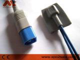 Kompatibler pädiatrischer weicher Fühler der Philips-M1192A Spitze-SpO2, 10FT