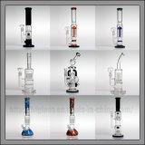 Tubo de agua de cristal de Hfy que fuma Percs Glassbong