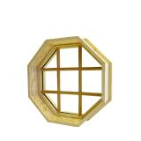 Finestra fissa Abitudine-Graduata di vetro Tempered con il blocco per grafici di alluminio
