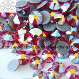 Продажи с возможностью горячей замены и превосходное качество света Siam Ab исправление Rhinestone хрустальное стекло копирование Preciosa камня для одежда аксессуары