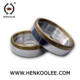 유리제 테두리를 위한 금속 다이아몬드 컵 회전 숫돌