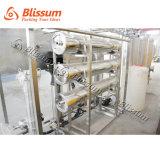 Tratamiento de aguas y energía puros de consumición industriales