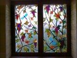 Novo Design Padrão Tiffany Janela Painel de vitral