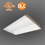 50W LEIDENE Troffer past UL Premie 0-10V Dimmable 2X4FT 140lm/W retroactief aan