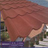 熱い販売のナイジェリアの多彩な石の上塗を施してある金属の屋根瓦