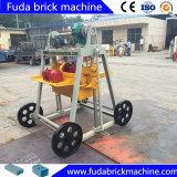 Máquina de fazer blocos de concreto Manual Bens móveis da máquina de bloco de camada de ovos