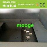 Máquina plástica do shredder da tubulação do PVC do HDPE da sucata com único eixo