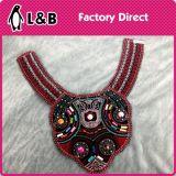 형식 목걸이 다채로운 목제 꽃 의류를 위한 Handmade 국제적인 고리 레이스