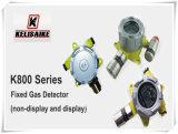 Détecteur fixe d'alarme de gaz de NH3 de détecteur de fuite de gaz de K800 LPG