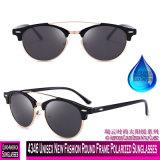 4346 Nova Ronda de moda unissexo óculos polarizados da Estrutura