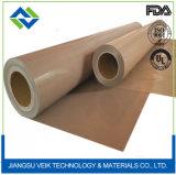Высокое качество ткани с покрытием из политетрафторэтилена для высокой температуры машины