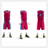 Su ordinazione all'ingrosso asciugano l'uniforme rovesciabile di pallacanestro della maglia adatta
