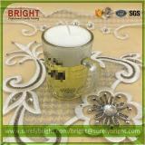 De Kaarsen van het Gel van de Gift van de decoratie in de Houder van de Kruik van het Glas