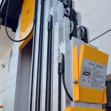 10m желтый и черный двойной мачты антенны рабочей платформы