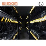La sagesse DEL de batterie au lithium rechargeable Miner projecteur avec une bonne qualité