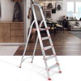 5개 단계 Workplatform 사다리 의자 접히는 강철 사다리