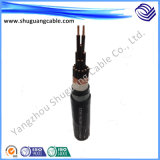Силовой кабель высоковольтного алюминия XLPE обшитый/Armored