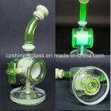 Neuer Entwurfs-Recycler-unbesonnenes rauchendes Wasser-Glasrohr