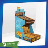 슈퍼마켓 공급자를 위한 초콜렛 제품 마분지 진열대 지면
