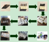 Торцевые фрезы каннелюр карбида 2 изготовления высокой эффективности твердые для алюминия от Китая