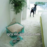 주문을 받아서 만들어진 디자인 로비 아크릴 애완 동물 침대