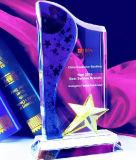Новый дизайн Five-Star Custom звезд хрустальное стекло трофеев награду