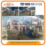 Custom Made Block Brick Making Machine com 12PCS / Mold