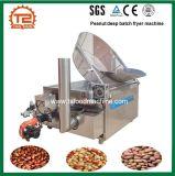 Friggitrice in lotti e dell'arachide delle arachidi e macchina di frittura