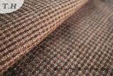 Tissu noir de meubles de sofa de Chenille