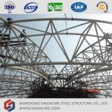 Sinoacmeは管のトラス屋根ふきのスポーツ・センターを組立て式に作った