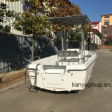 Liya 16.5FT 8person Sport Fishing Boats Fiberglass Dirty Boat Speed