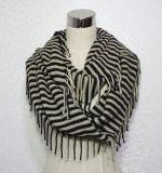 Sjaal van de Mensen van de Winter van de manier de Acryl Gebreide Vrije (yky4645-1)