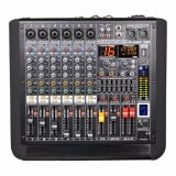 5つのバンド効果の水平なモニタが付いているデジタル可聴周波ミキサー
