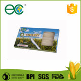 "6"" Compostable Cpla biodegradables Kit de cubiertos de la bolsa de Kraft envuelto para Hotel"