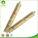 Palillos redondos de bambú disponibles con la funda de papel