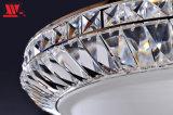 Klassische Kristalldecken-Lampe mit bereiftes Glas-Farbton
