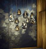 De Verlichting van de Tegenhanger van het Glas van de Decoratie van de eetkamer (9208P-a)