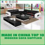 Wohnzimmer-Leder-Sofa China-Lizz Funriture modernes