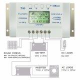 regolatore di energia solare di 12V/24V 40A con controllo T40 di Light+Timer