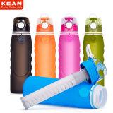 El fabricante BPA de China libera la botella de agua de la filtración del silicón ultra