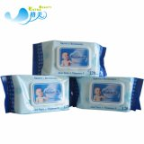 Comercio al por mayor las toallitas húmedas de bebé Cuidado de la piel orgánicos tejidos bebé OEM