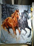 パネルはSherpaの220GSM Sherpaの240GSMによって選別された印刷された毛布を印刷した