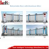 自動ステンレス鋼の入口の高速引き込み式のドア