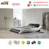 2017 re moderno poco costoso Size Leather Bedroom Bed per la mobilia della camera da letto (HC301)