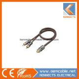 Ke Z1 Câble Audio Câble OFC Y Câble RCA de métal
